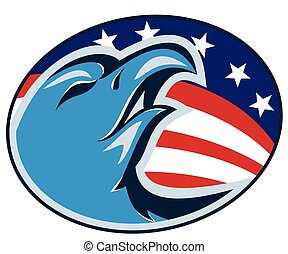 eagle-head-american-stars-stripes