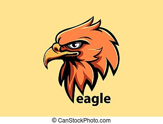 Eagle head - Vector illustration, eagle head symbol