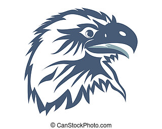 Eagle head for web design