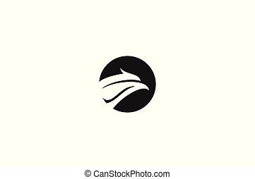 Eagle head icon,
