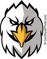 Eagle head illustration design
