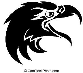 Eagle Head in Profile