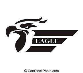 eagle head logo 5