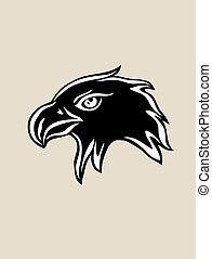 Eagle Head Silhouette