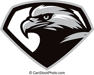 Eagle head - Stylish vector of eagle head