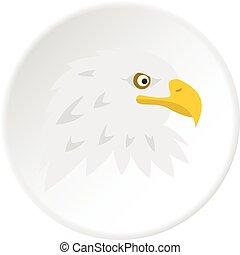 Eagle icon circle