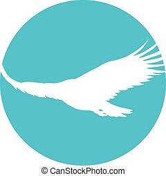 Eagle - Icon of a soaring eagle