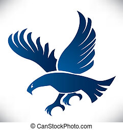 Eagle illustration - Eagle symbol, emblem design, attacking ...
