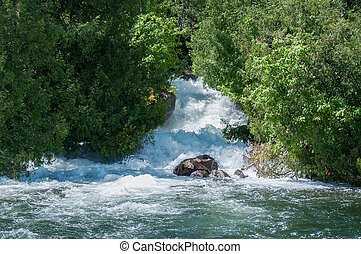 Eagle Lake Waterfall Ontario