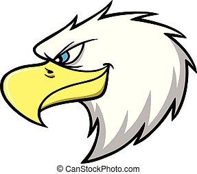 Eagle Mascot Head