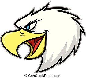 Eagle Mascot Scream