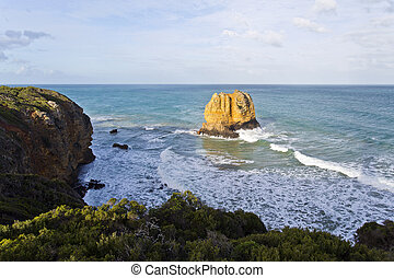 Eagle Rock Volcanic Stack - Eagle Rock is a tall volcanic...