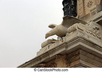 eagle stone detail