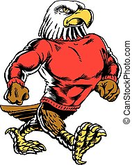 Eagle Strut Neo Classic 2 - Mascot Eagle, strutting, proud ...