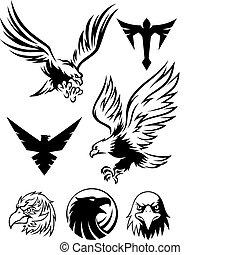 Eagle Symbol - eagle logos and symbols for designers.