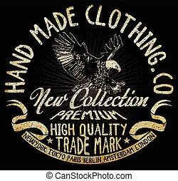 eagle t-shirt graphic