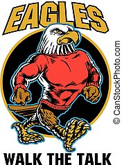 Eagle Walk The Talk Neo Classic - Amazing NEW Mascot Eagle,...