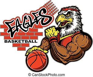 eagles basketball - graffiti eagles basketball team design...