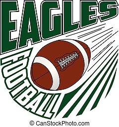 Eagles Football Team Design