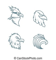 eagles head