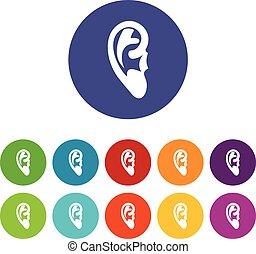 Ear set icons