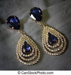 earings, elegantie