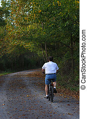 Early Autumn On The Bike Path