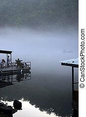 Early fishing