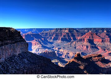 Grand Canyon - Early moring at the Grand Canyon in Arizona