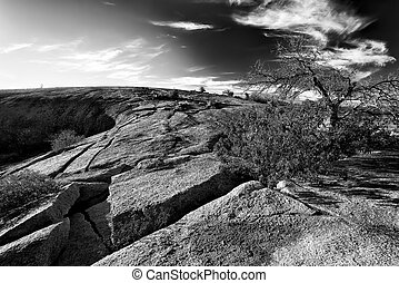 Early Morning at Enchanted Rock State Park, TX