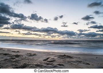 Early morning at ocean