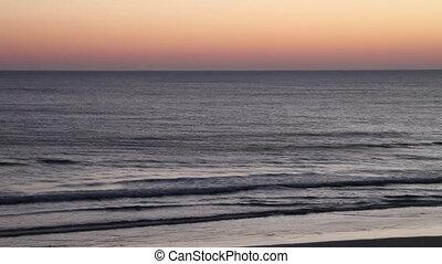 Early morning beach Daytona FL