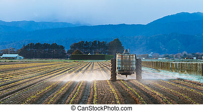 Early Morning Crop Spraying