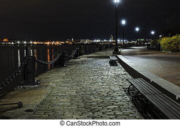 Early morning Fan Pier South Boston