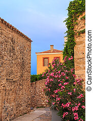 early morning in Monemvasia
