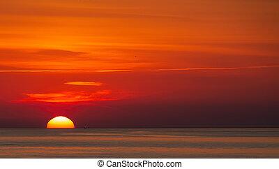 Early Morning Shrimp Boat
