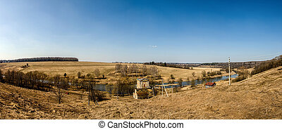 Early spring panorama