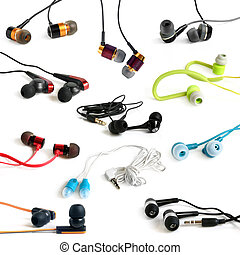 Earphones collection