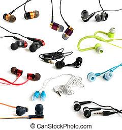 Earphones collection