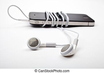 Earphones / Headphones and Music Player
