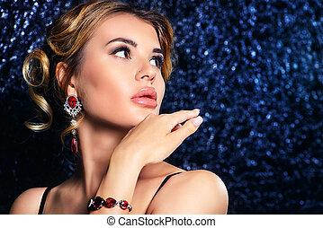 earrings, i, bransoletka
