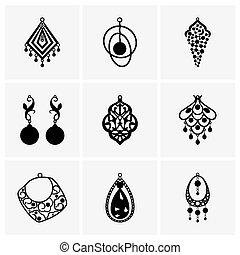 Earrings - Set of earrings