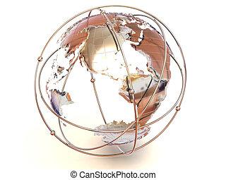earth., 3d