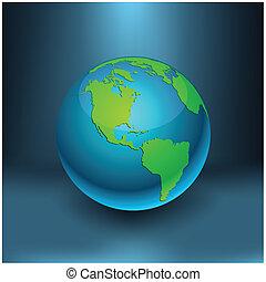 Earth - America.