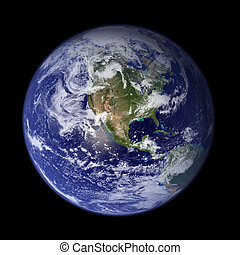 Earth - America - Earth from outer space - America