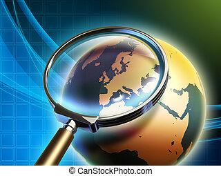Earth analysis