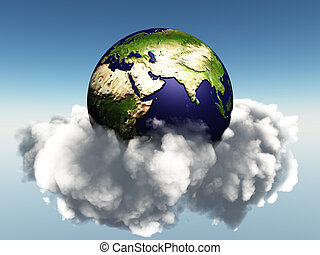 Earth and Clouds