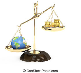 Earth and money