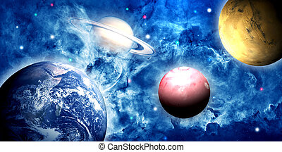 Earth and planets