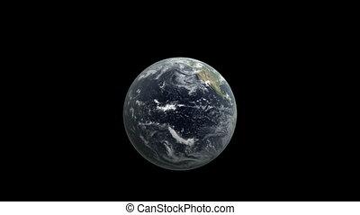 Earth breaking window